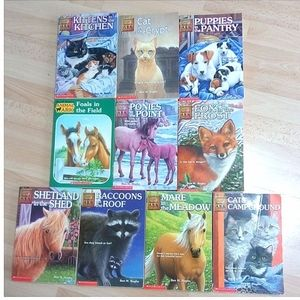 Animal Ark Lot of 10 Books by Ben M. Baglio Kids